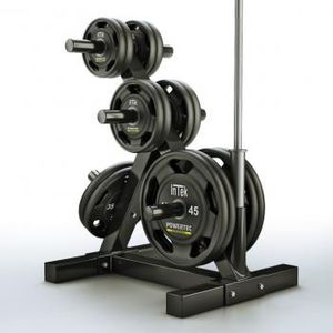 Olympic weights with bar n gym tree for Sale in Temecula, CA