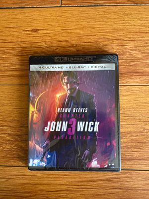 John Wick 3: Parabellum 4K UHD (NEW!) for Sale in Los Angeles, CA