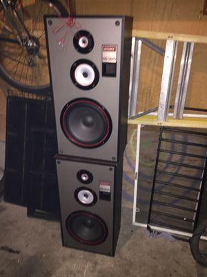 Sony SS-U670 home audio 3 way speaker system for Sale in Kennewick, WA