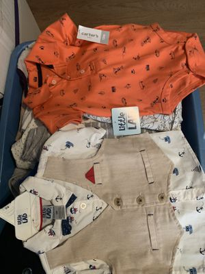 Baby boy clothes and some 2t 3t girl cloth winter for Sale in Irving, TX