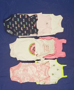 Newborn/0-3 months Tanks/onesies for Sale in Lockport, NY