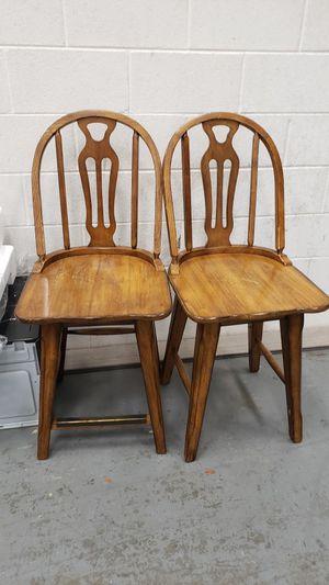 Swiveling bar stools set of 4 for Sale in Fairfax, VA