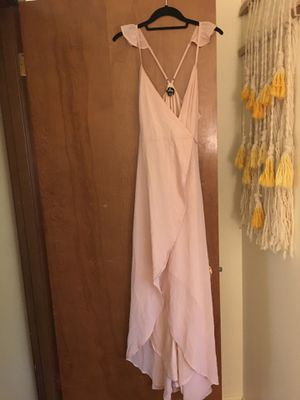 Lulu blush wrap dress for Sale in Everett, WA