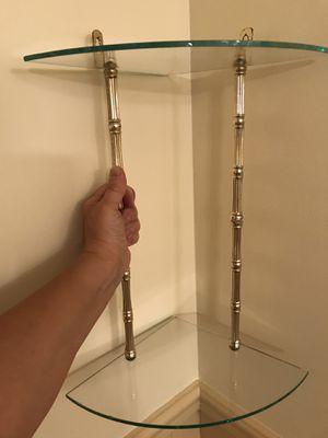 Glass Corner Shelf for Sale in Aliquippa, PA