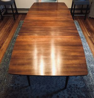 Mid century Modern table 5' stretches to 8' surfboard for Sale in Frederick, MD