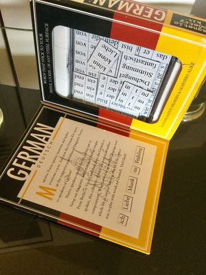 🇩🇪 German Magnetic Poetry Kit New in box / German language Creativity & Language skills 😁👍🇩🇪 for Sale in Lincolnia, VA