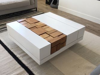 Custom MSTRF Abaci Walnut Modern Coffee Table for Sale in Saratoga Springs,  UT