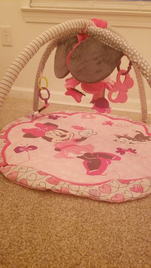 Play Mat lightly used has mirror for baby. Comes with batteries. From a Pet free smoke free home. for Sale in Norcross, GA