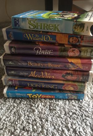 7 Classic VHS Movies for Sale in Fairview, OR