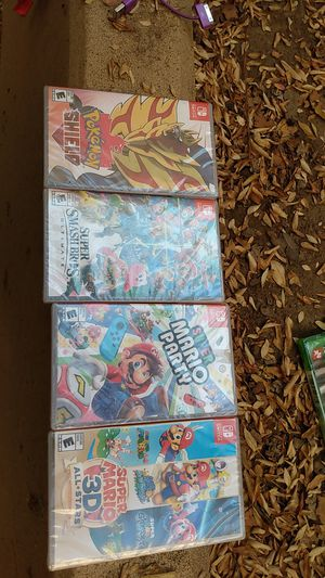 40 dollars each or 120 for all 4 games for Sale in Fresno, CA