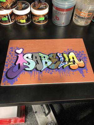 Custom hand painted graffiti art for Sale in Riverside, CA