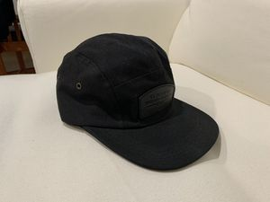 Filson 5 Panel BlackHat With Leather Front Logo Patch for Sale in Seattle, WA