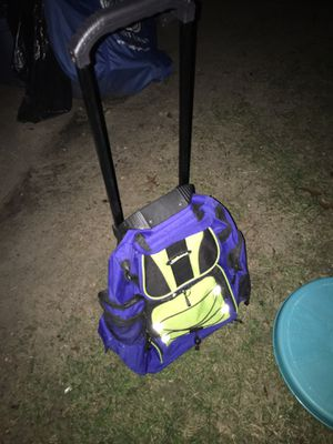 Lnew Backpack with wheels and extension handle only $20 firm for Sale in MD, US