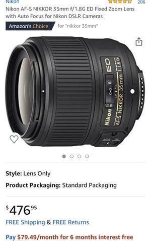 Nikkor lens for Sale in Charlotte, NC