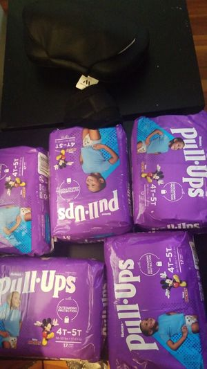 5 pack Huggies pull up size 4t-5T for Sale in Boston, MA