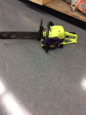 """18"""" bar poulan wildthing chainsaw for Sale in Fresno, CA"""