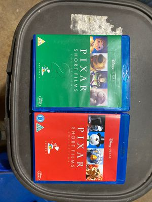 Pixar Short Film Collection, 2 movies, Blu Ray for Sale in Chula Vista, CA