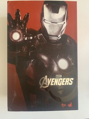 Hot Toys MMS 185 Iron Man 2 Mark VII vii 7 Tony Stark (Normal Version) for Sale in Hollywood, FL