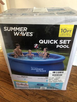 Summer Waves 10x30 Swimming Pool for Sale in Falls Church, VA