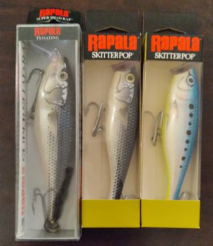 3 Rapala Saltwater fishing lures for Sale in Manchester, NH