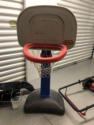 Little tikes adjustable basketball hoop for Sale in Virginia Beach, VA