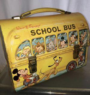 Walt Disney 1960's Lunch Box for Sale in Fresno, CA