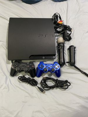 PS3 Move Sharp Shooter & 10 games $175 (Price Negotiable) for Sale in Hialeah, FL