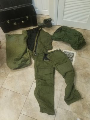 Military chemical suit, waterproof bag and duffle bag for Sale in GLOUCSTR CITY, NJ