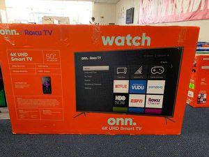 """New ONN 4K 50"""" TV Open box w/ Warranty! 601 for Sale in Chino, CA"""
