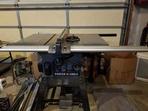 Porter cable table saw for Sale in Odenton, MD