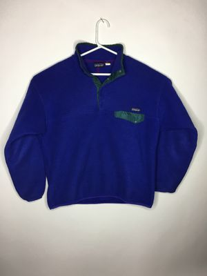 Vintage Patagonia fleece quarter zip jacket for Sale in Montclair, CA