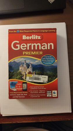 Berlitz German Premier for Sale in MENTOR ON THE,  OH