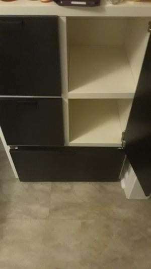 Black and white dresser for Sale in Lexington, KY