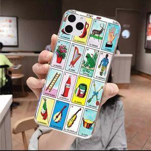 New mexican bingo loteria tpu phone case cover for iphone 11promax/iphone11pro. Iphone 7. 2 for $18. for Sale in Los Angeles, CA