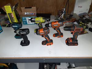 Impact drill driver drill impact wrench for Sale in Hemet, CA