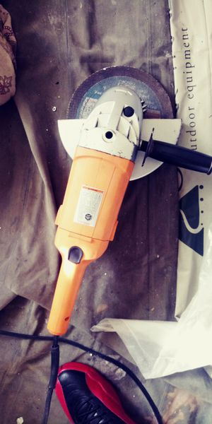 chicago 4 1/2 angle grinder for Sale in Knoxville, TN