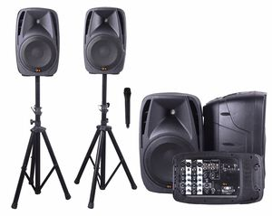 "ALL-IN-ONE DUAL 10"" SPEAKERS /DJ MIXER MSRP: $399.99 for Sale in Ballwin, MO"