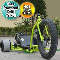 A gas powered drift Trike Tricycle bike with a fat Ryder motorized big wheel for Sale in Ellenwood, GA