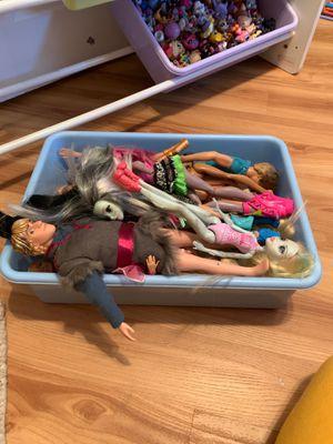 Barbie dolls 🚶♀️🚶♂️ for Sale in Pawtucket, RI