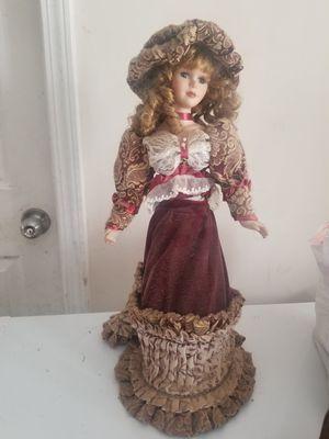 Antique porcelain doll for Sale in Greenville, SC