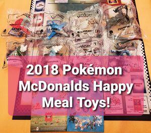 Pokemon 2018 McDonalds Toys, Complete Set + Box, Sealed! for Sale in Chesilhurst, NJ