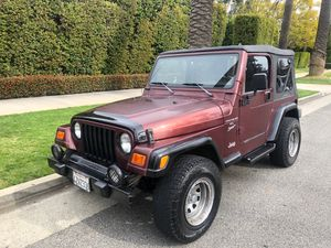 2001 Jeep Wrangler for Sale in Los Angeles, CA