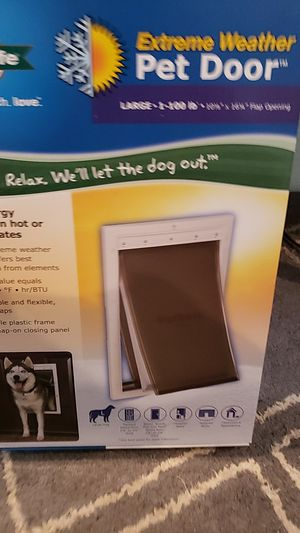 Petsafe Extreme Weather Pet Door for Sale in Palm Springs, FL