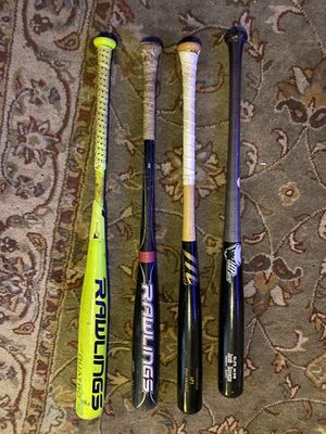 Baseball bats, marucci, rawlings, viper for Sale in San Diego, CA