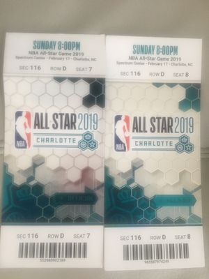 All Star tickets. Great seats for Sale in Charlotte, NC