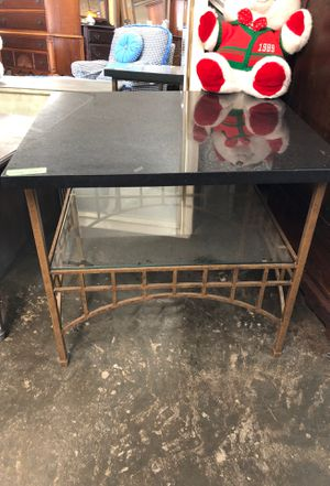 Black Onyx table for Sale in Raleigh, NC