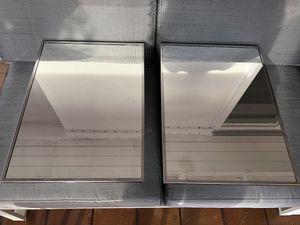 Recessed Mount Stainless Steel Framed Mirrored Medicine Cabinet Bathroom Vanity Organizer / Gabinete Botiquin de Baño Empotrado con Espejo for Sale in Hialeah, FL