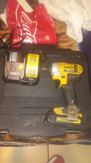 Dewalt 20vmax impact drill for Sale in Stockton, CA