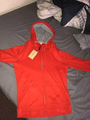 Medium Burberry zip up hoodie for Sale in Bloomington, IL