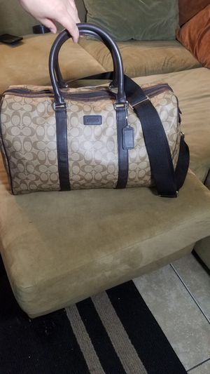 Aunthentic Coach Duffle Bag for Sale in Phoenix, AZ